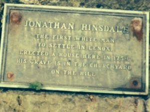 Jonathan Hinsdale - First European Settler of Lenox