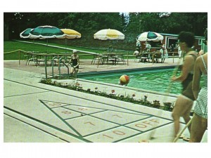 A Pool Was Installed in What Had Been the Morgan's Italian Garden