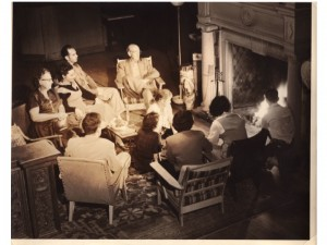 Festival House Cultural Activities Included Lectures on the Lawn and Fireside Chats