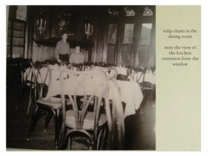 Dining Room as it Appearing During Festival House - Bruno and Judith