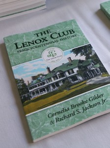 History of the Lenox Club (and Windyside) Now Available