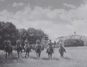 Foxhollow Riders in Front of The Mount
