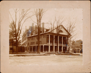 View Showing the Late 19th Century Addition