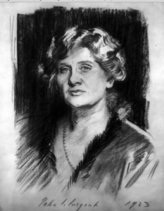 1913 John Singer Sargent Sketch of Elizabeth Sprague Coolidge
