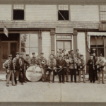 Lenox Band in Front of Peter's Bike Shop